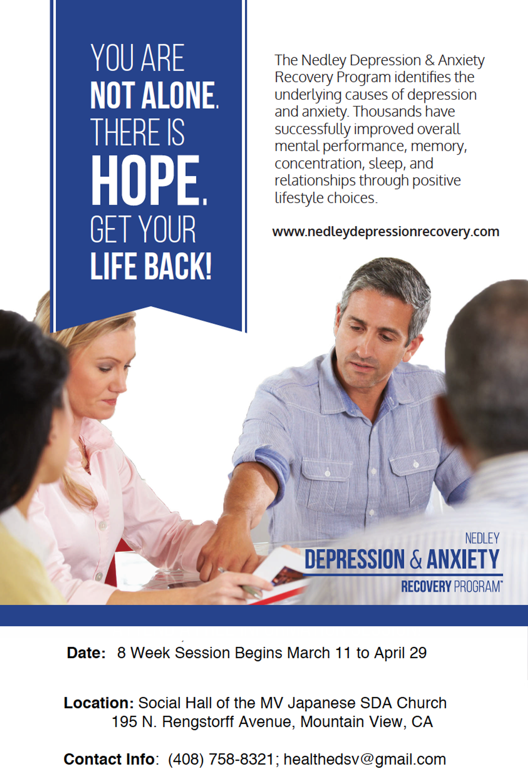 2018 Depression and Anxiety Recovery Program