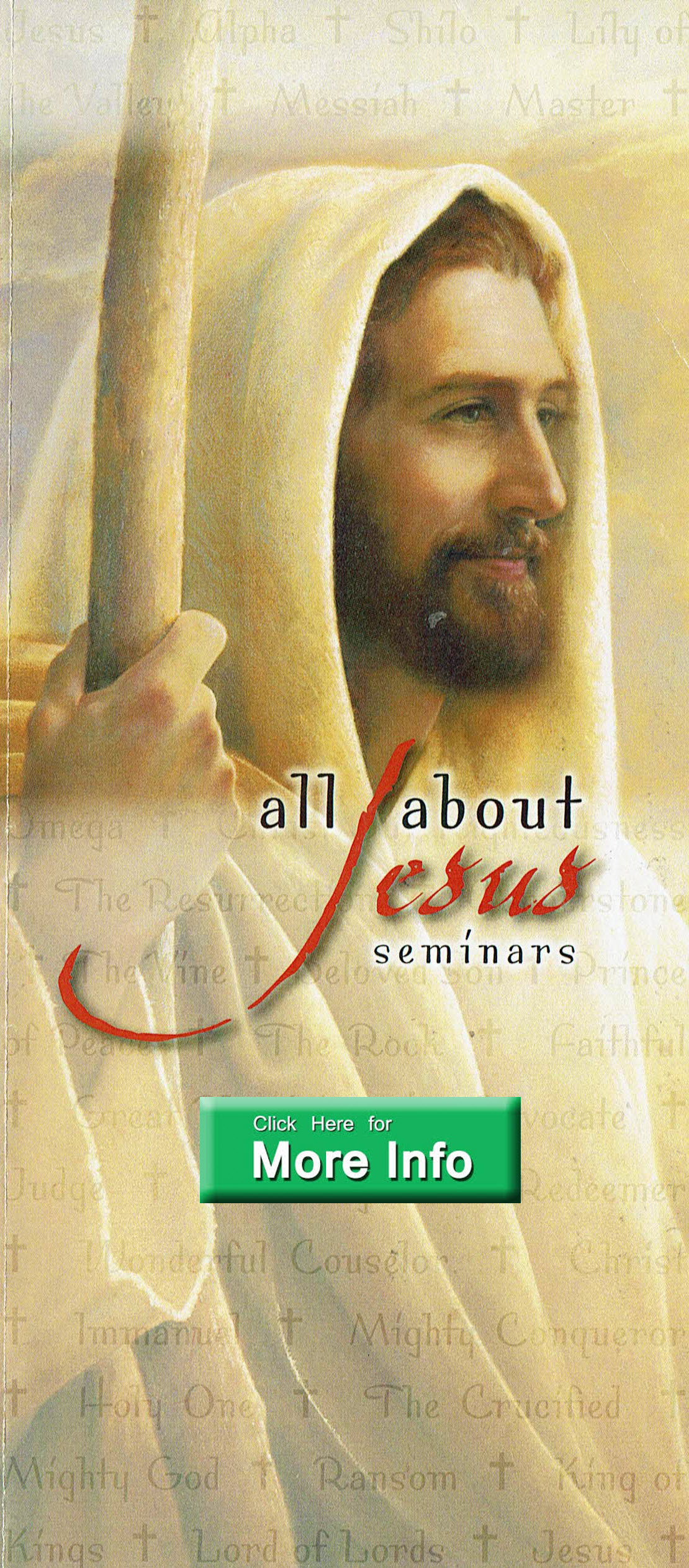 2018 All About Jesus Seminars